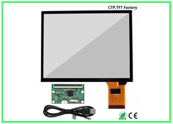 China 86% Min Transparency Touch Panel For Lcd Monitor , 12 Inch Multi Touch Panel supplier