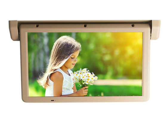 China 21.5 Inch Bus LCD Monitor Roof Mountable With PAL/NTSC Video Color Systems supplier