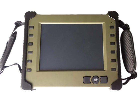 "China Military Handheld Industrial Tablet Computer 8.4 "" LED Display WIFI Support supplier"