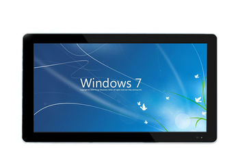 China 22 Inch Capacitive LCD Touch Screen Monitor Desktop Installation Metal Case supplier