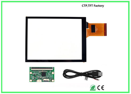 6H Surface Hardness Small Touch Panel 5.7 Inch With Stable Performance