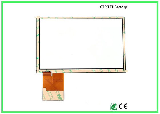 China Commercial 7 Small Touch Panel G+G Structure With High Transmittance factory