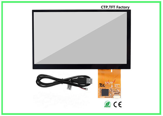 China Strong Compatibility USB 7 Inch Small Touch Panel For Industry Monitor factory