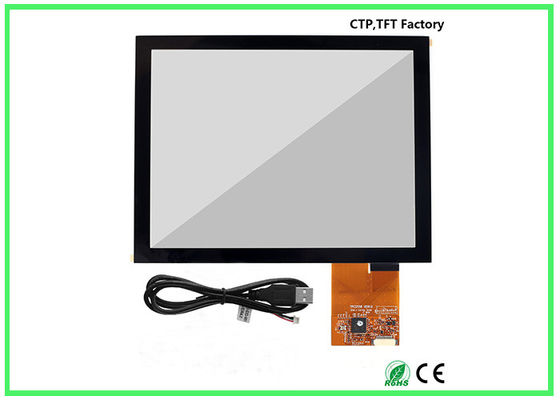 China Durable Capacitive Touch Screen Panel 8 Inch Size 183.00*141.00 Outline Dimension factory
