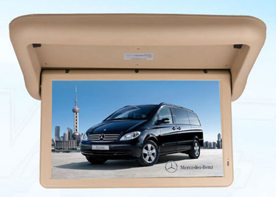 China Motorized Structure Overhead Flip Down Monitor 15.6 Inch With HDMI Port factory