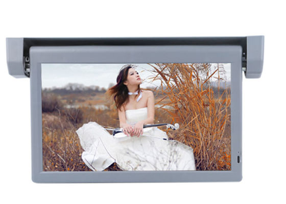 China Metal Case Bus 15.6 In Advertising Screen Monitor High Brightness For Caravan factory