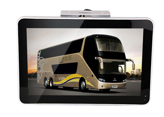 China Acrylic Front Frame Digital Advertising LCD Screens , 15.6 Inch Roof Mount Monitor factory