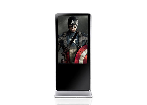 Metal Housing Android Digital Advertising Screens 4g Memory With USB Port
