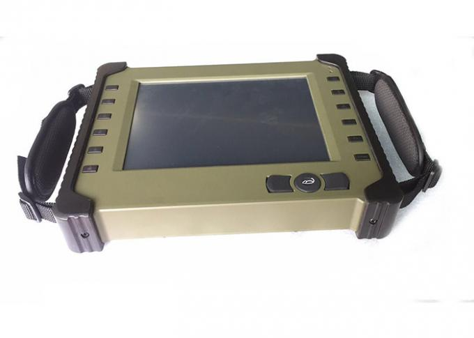 "Military Handheld Industrial Tablet Computer 8.4 "" LED Display WIFI Support"